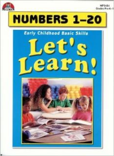 Let's Learn! Numbers 1 20 (Early Childhood Basic Skills, Grades Pre K 1): Books
