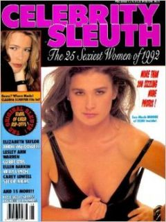 Celebrity Sleuth Magazine: Volume 4 Number 8 (1991): Nude Celebrity Magazine (The 25 Sexiest Women of 1992): Editors of Celebrity Sleuth: Books