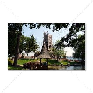 Boldt Castle Alster Tower and Gaz Wall Decal by Admin_CP70839509