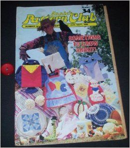 ANNIE'S Pattern Club   Newsletter Number 34  Aug/Sept 1985: Anita Gentry: Books
