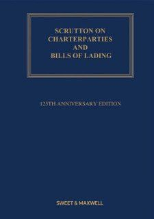 Scrutton on Charterparties and Bills of Lading.: Henry Bernard Eder: 9780414045903: Books