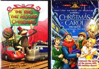 The Toys That Rescued Christmas , Christmas Carol Animated Movie : Childrens Christmas 2 Pack: Movies & TV