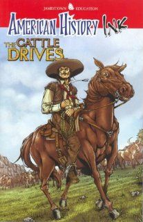 American History Ink The Cattle Drives Glencoe/ McGraw Hill   Jamestown Education 9780078780271 Books