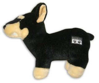 Snoop Dogg Pets Plush Doberman Dog Toy with Sound Chip
