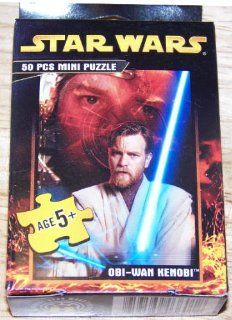 Star Wars 50 Piece Mini Puzzle   Choose Between Various Character Designs: Toys & Games