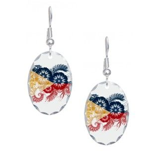 Philippines Flag Earring by floralworldflags