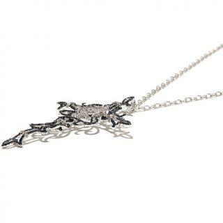 Rarities: Fine Jewelry with Carol Brodie 3.5ct Blue and White Diamond Cross Pen