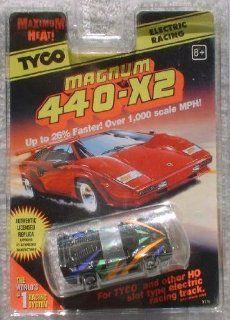 Tyco Magnum 440 X2 FERRARI F 40 HO Scale Slot Car (1996 TYCO) Toys & Games