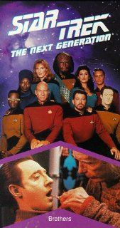 Star Trek   The Next Generation, Episode 77: Brothers [VHS]: LeVar Burton, Gates McFadden, Gabrielle Beaumont, Robert Becker, Cliff Bole, Timothy Bond, David Carson, Chip Chalmers, Richard Compton, Robert Iscove, Winrich Kolbe, Peter Lauritson, Robert Lega