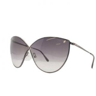 Tom Ford TF 251 36FL Evelyn Bronze Cateye Sunglasses: Clothing