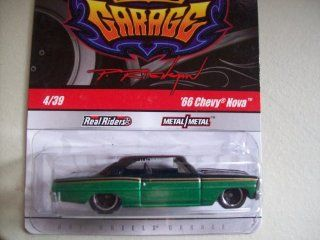 Hot Wheels Phil's Garage '66 Chevy Nova Chase: Toys & Games