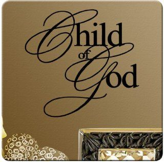 Child of GOD Wall Decal Sticker Christian Art Mural Home D�cor Quote