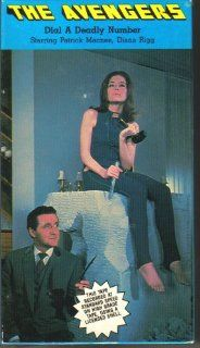 Dial a Deadly Number The Avengers Patrick Macnee, Diana Rigg Movies & TV
