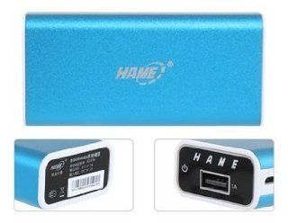 HAME HM A16W 5000mAh Portable Mobile Battery for iPad, iPhone, Samsung, Nokia, HTC (Blue): Electronics