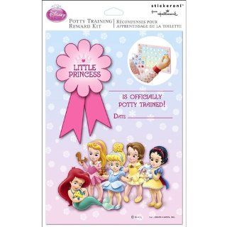 Disney Princess Potty Training Chart Reward Kit   1 Each Toys & Games