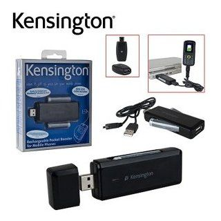 New Kensington Technology Rechargeable Pocket Booster For USB Mobile Phones K38036US Slim: Electronics