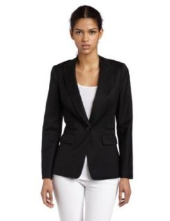Ted Baker Womens Necia Suit Blazer, Black, UK 1/US 4: Clothing