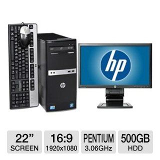 HP B2C00UT Intel Pentium Desktop PC Bundle: Electronics