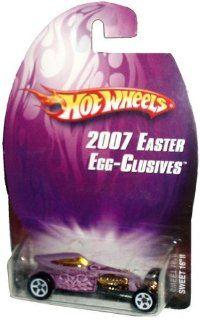 Mattel Hot Wheels 2007 Easter Egg Clusives Series 164 Scale Die Cast Metal Car L4711   Purple Hotwheels Hoppers Dragster Sweet 16 II Toys & Games