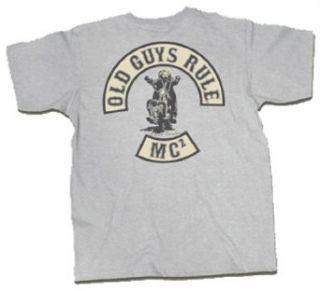 Old Guys Rule T shirt MC Motorcycle Club Einstein Clothing