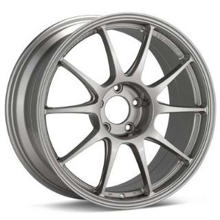 WEDS WedsSport TC 105N Wheel 17x9 Offset +10 (Titan Silver): Automotive
