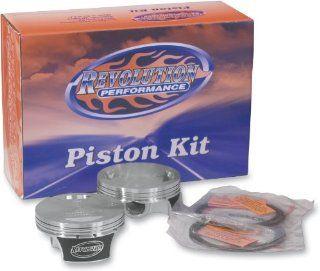 Revolution Performance Big Bore Piston Kit (98in. Flat Top)   Bore 3.938in.   Stroke 4in.   9.751 Compression 301 105W Automotive