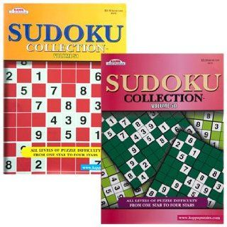 Kappa Sudoku Collection Puzzle Books, 112 Pages Toys & Games