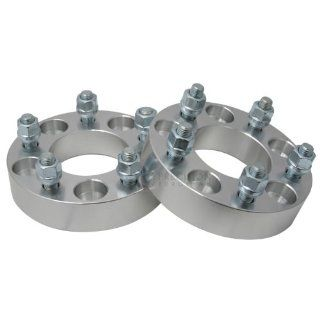 "(2) 25mm (1"") 5x114.3 (5x4.5) Wheel Spacers with 12x1.5 Studs for Acura Dodge Honda Hyundai Toyota: Automotive"
