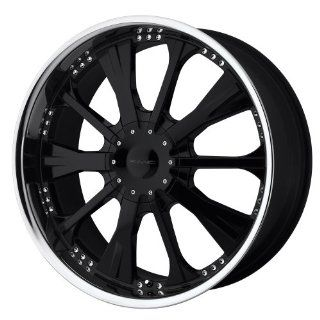 "KMC Wheels Strike KM658 Gloss Black Wheel with Machined Lip (20x8.5""/5x114.3mm): Automotive"