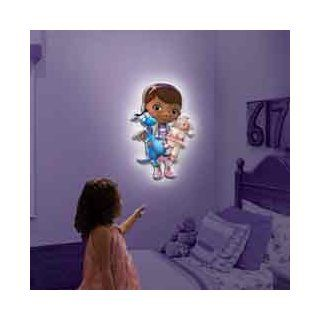 Uncle Milton Wall Friends Doc McStuffins, Talking Room Light: Toys & Games