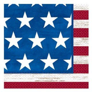 Online Stores, Inc. Patriotic Luncheon Napkins Americana Package Of 100: Toys & Games