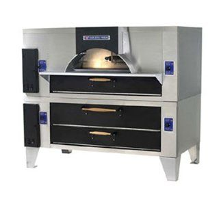 Bakers Pride FC 516 D 125 NG Il Forno Classico Pizza Oven, Double Stacked w/D 125, Wood, NG, Each Kitchen & Dining