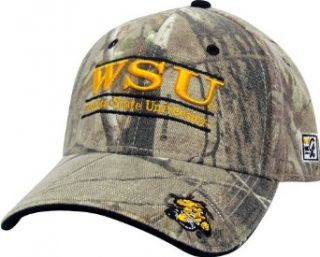 Wichita State Realtree Camo Stretch  Fit with Classic Bar Design Hat : Baseball Caps : Clothing
