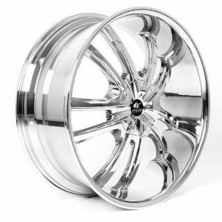MUM Sports JS 55   24 inch Chrome Wheels Rims (24x10 6x135/139.7 ET+30)   SET OF 4   Automotive