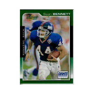 2000 Score #134 Sean Bennett: Sports Collectibles