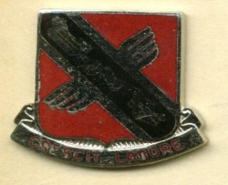 US Army 134th Engineers Bn Distinctive Unit Insignia Collectibles & Fine Art