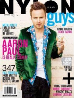 Nylon Guys Magazine, September 2013 Marvin Scott Jarrett Books