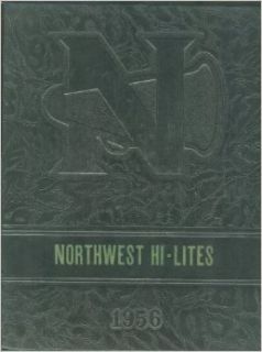 Northwest Junior High School, Kansas City, Kansas Yearbook, Hi Lites, 1956: Pat Proctor: Books