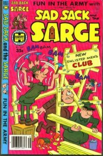 Sad Sack & The Sarge #138 comic book 8 1979: Collectibles & Fine Art