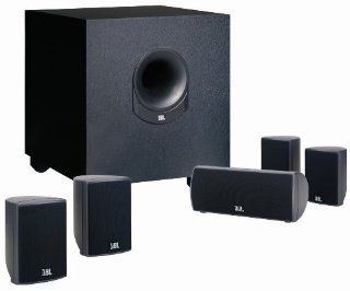 JBL 5.1 Channel SCS145.5 Surround Cinema Speaker System: Electronics