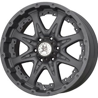 """American Outlaw Buckshot Matte Black Wheel with Painted Finish (17x9""""/6x139.7mm): Automotive"""