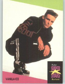 1991 Pro Set Superstars MusicCards U.K. Edition # 146 Vanilla Ice (Collectible Pop Music / Rock Star Trading Card): Toys & Games
