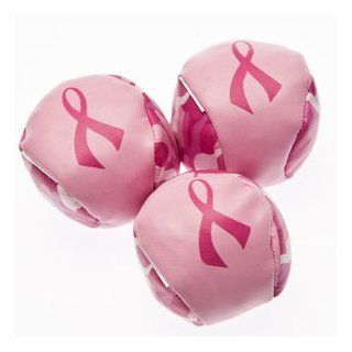 Camouflage Pink Ribbon Footbags: Toys & Games