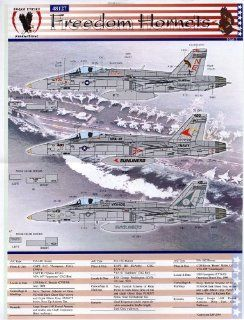 F/A 18 C Freedom Hornets #1: VFA 81, 105, 147 (1/48 decals): Toys & Games