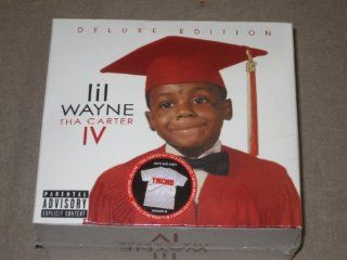 Lil Wayne Tha Carter IV Limited Best Buy Deluxe Edition with YMCMB T Shirt: Music