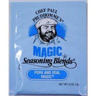 Chef Paul Prudhommes Seasoning Blends Pork Veal Case Pack 144   Meat Seasonings