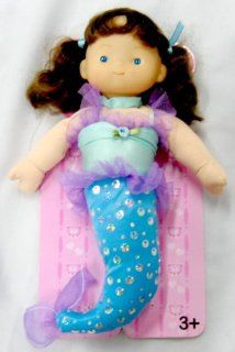 "Little Cuddly 12"" Soft Vinyl and Stuffed Body Mermaid Doll Toys & Games"