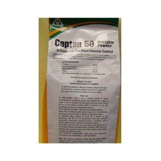 Captan 50W (5 lb) Fungicide for Fruit, Ornamentals and Turf 6666020: Industrial & Scientific
