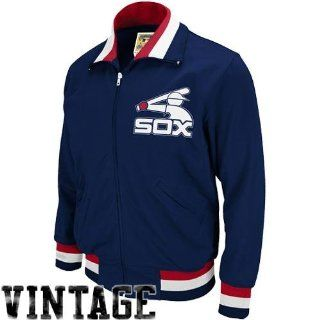 Chicago White Sox 1986 BP Jacket Mitchell & Ness 52 : Sports Fan Outerwear Jackets : Sports & Outdoors