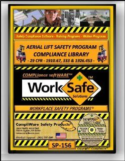 SP 156   AERIAL LIFT SAFETY COMPLIANCE LIBRARY   OSHA   29 CFR 1910.67. 333 & 29 CFR 1926.453   UPC   639737375435: Software